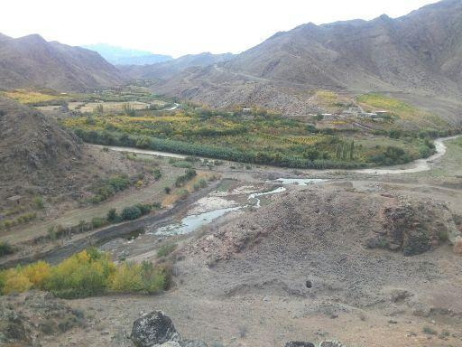 بقایای پل تاریخی آلاجوق گرمی کشف شد