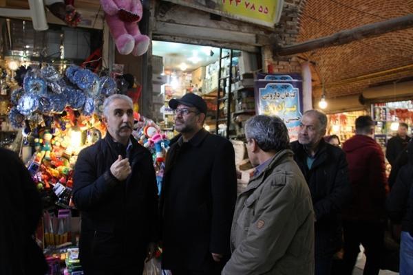 راسته های بازار تاریخی ارومیه مرمت می گردد