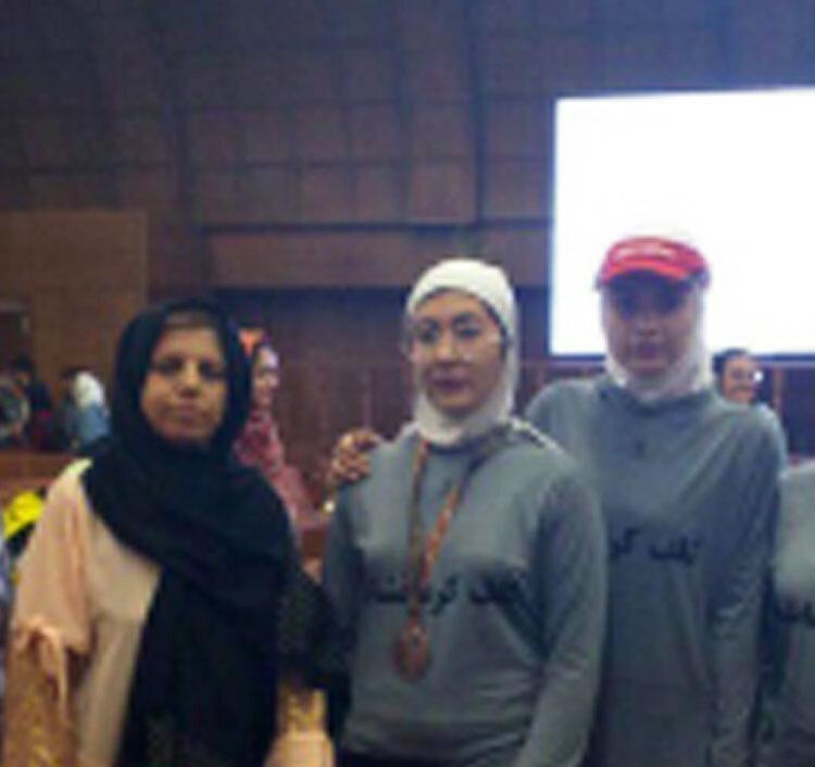 مدال برنز المپیاد استعدادهای برتر بر گردن گلف باز کرمانشاهی