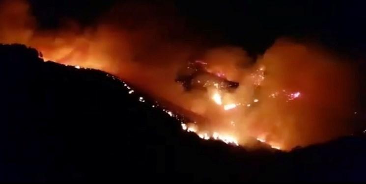 ناسا تأثیر آتش سوزی ها را بررسی می کند