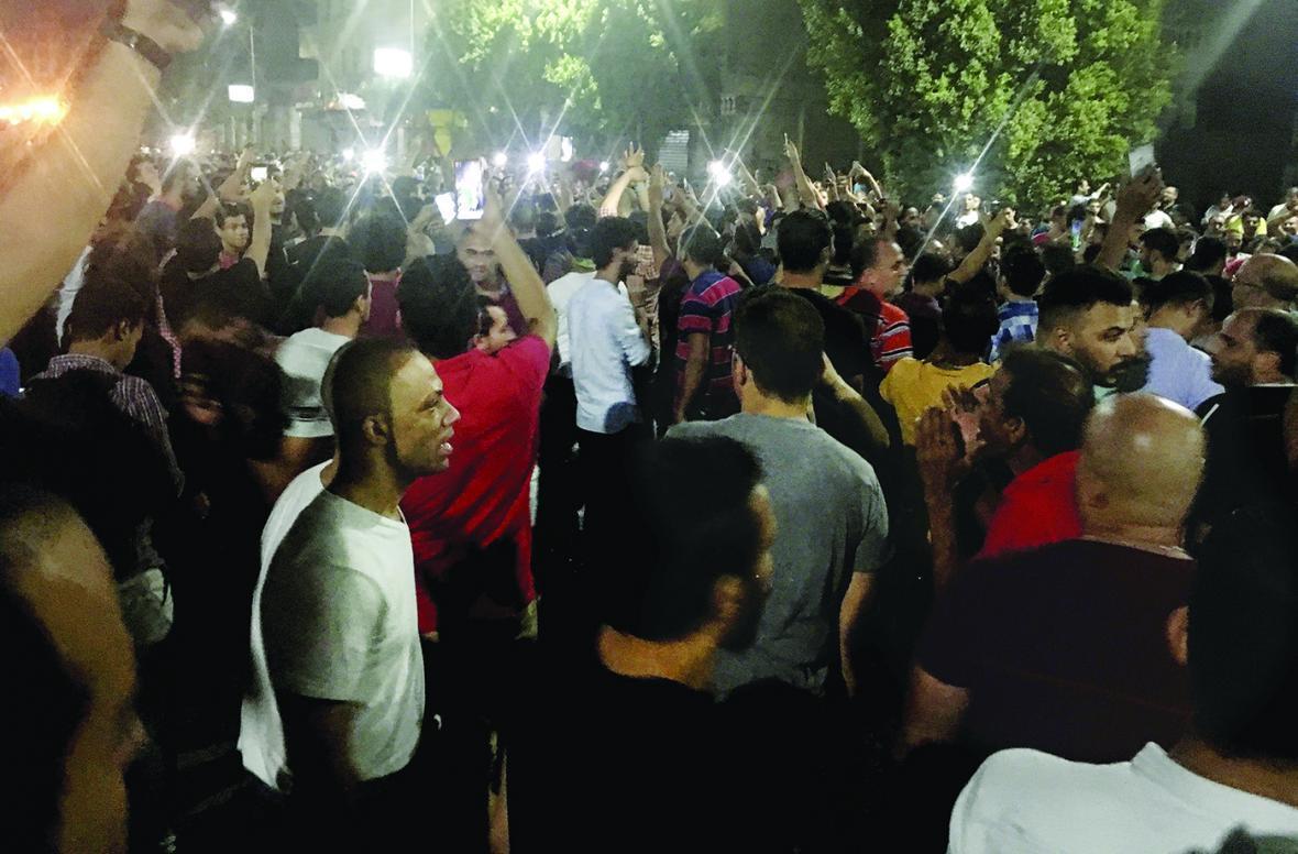 قیام توئیتری و خیابانی علیه السیسی