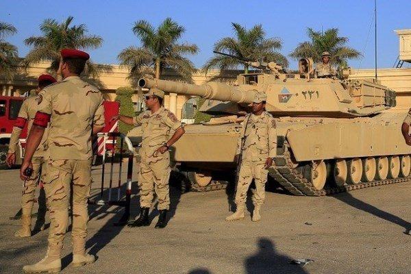 کشته شدن 7 نظامی مصری در صحرای سینا